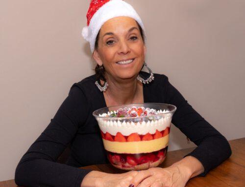 Daphne's Christmas trifle
