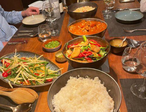 Thais dineetje met massaman beef curry