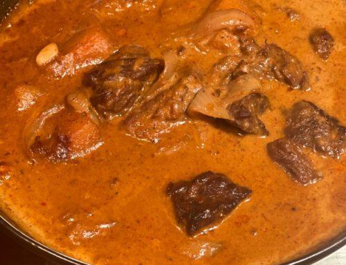 Massaman beef Curry